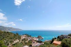 Taormina Sicily Stock Image