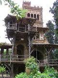 Taormina Sicily Park Giardini della Villa Comunale royalty free stock photos
