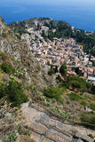 Taormina Sicily, Italy Stock Photography