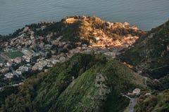 Taormina, Sicily - Italy. Stock Photo