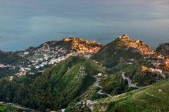 Taormina, Sicily - Italy. Stock Images