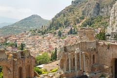 Taormina - Sicily Stock Photography
