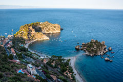 Taormina, Sicily, Wonderful view of seaside. Stock Photography