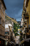 Taormina small street Royalty Free Stock Images