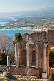 Taormina theater Royalty Free Stock Photo