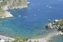 Taormina, Tourists Paradise Stock Images