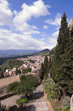 Taormina town in Sicily Italy Stock Photography