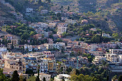 Taormina view from above Stock Images