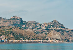 Taormina Views Royalty Free Stock Photos