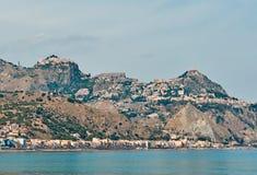 Taormina Views Royalty Free Stock Photos