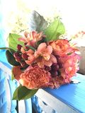 Taos沙漠婚礼花束 图库摄影