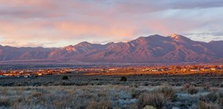 Taos谷,新墨西哥 免版税库存照片