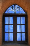 taos Пуэбло церков Стоковое Изображение RF