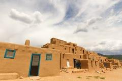 Taos镇 图库摄影