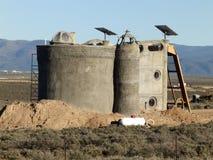 Taos Earthship Fotografie Stock Libere da Diritti