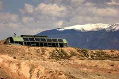 Taos Earthship Stock Images