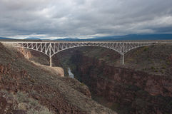 Taos Gorge Bridge Royalty Free Stock Photos