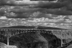 Taos Gorge, Taos New Mexico Stock Photos