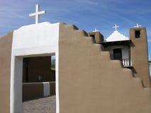 Taos Kirche Stockbilder