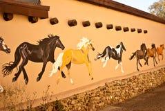 Galloping Horses Royalty Free Stock Photography