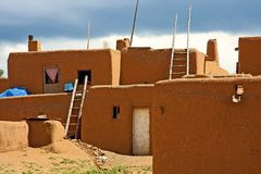 Taos Osada Zdjęcia Stock
