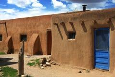 Taos Osada Obrazy Stock