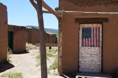 Taos Osada Obrazy Royalty Free
