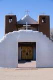 taos pueblo εκκλησιών Στοκ Εικόνες