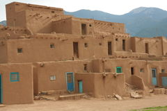 Taos Pueblo Royalty Free Stock Photos