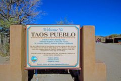 Taos Pueblo Royalty Free Stock Images