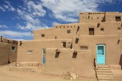 Taos Pueblo Royalty-vrije Stock Foto
