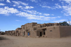 Taos Pueblo Royalty-vrije Stock Foto's