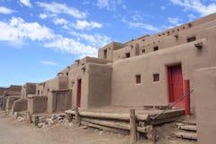 Taos Pueblo Stockfotografie