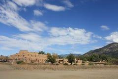 Taos Pueblo Stockfoto