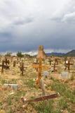 Taos Pueblo Cemetery Stock Image