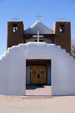 Taos pueblo church Stock Photo