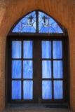 Taos Pueblo church Royalty Free Stock Image