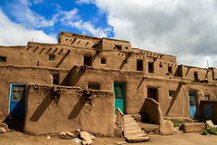 Taos-Pueblo im New Mexiko Lizenzfreie Stockfotos