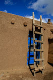 Taos-Pueblo im New Mexiko Stockfoto