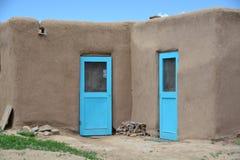 Taos-Pueblo im New Mexiko Lizenzfreies Stockbild