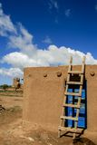 Taos-Pueblo im New Mexiko, USA Stockbilder