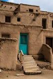 Taos-Pueblo im New Mexiko, USA Lizenzfreie Stockbilder