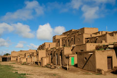 Taos-Pueblo im New Mexiko, USA Lizenzfreies Stockbild