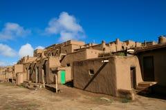 Taos-Pueblo im New Mexiko, USA Lizenzfreies Stockfoto