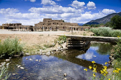 Free Taos Pueblo Indian Reservation Royalty Free Stock Photography - 20435217