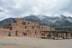 Taos Pueblo in New Mexico Royalty Free Stock Image