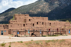 Taos Pueblo in New Mexico Stock Photography