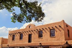 Taos Pueblo in New Mexico Royalty Free Stock Images