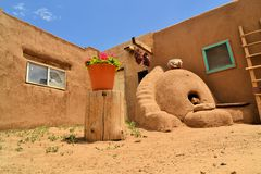 Taos Pueblo in New Mexico Royalty Free Stock Photography