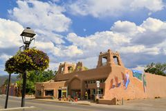 Taos Pueblo in New Mexico Stock Image